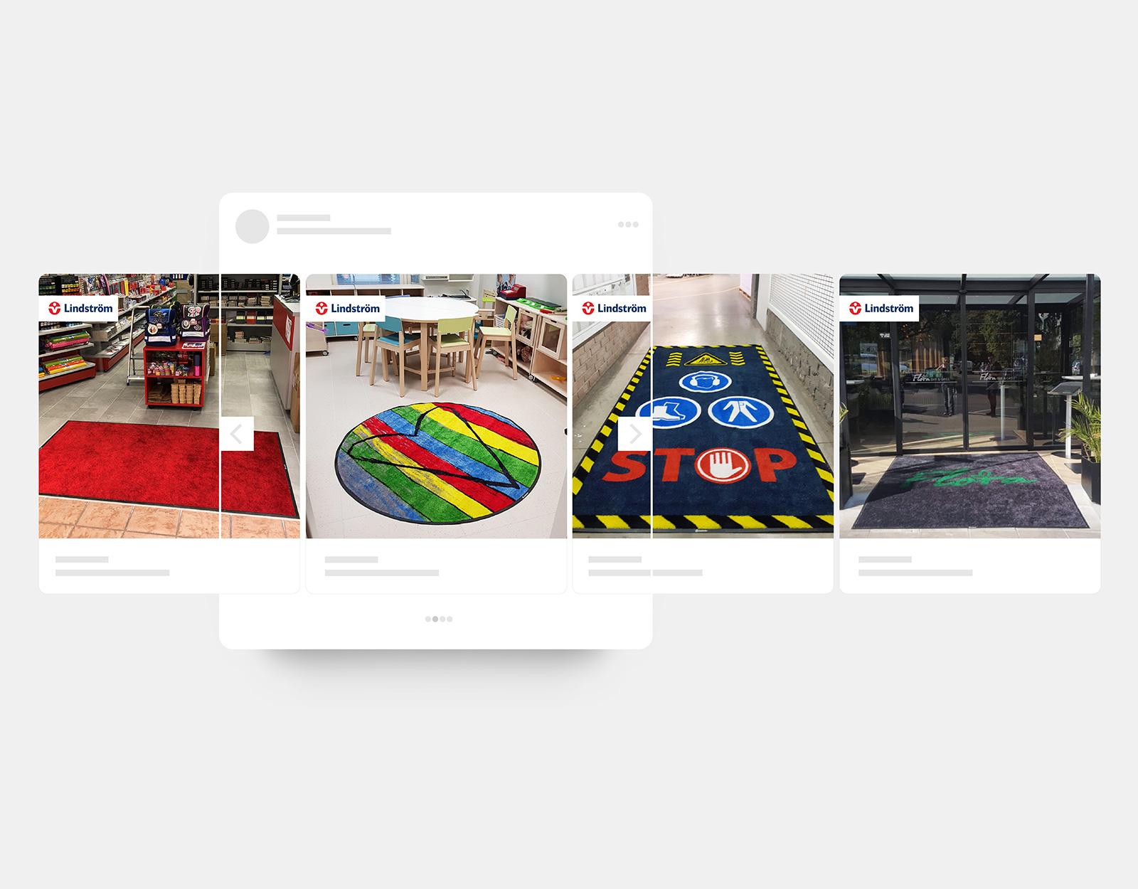 Kарусел от снимки за ФБ реклама/ Lindstrom